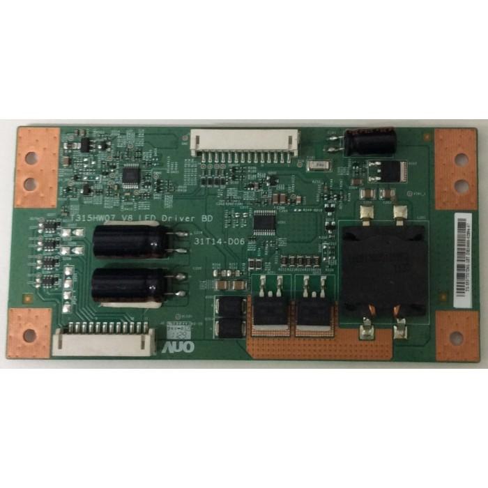 Tarjeta Driver Led (T315HW07) para TV LED LG 42LV3550
