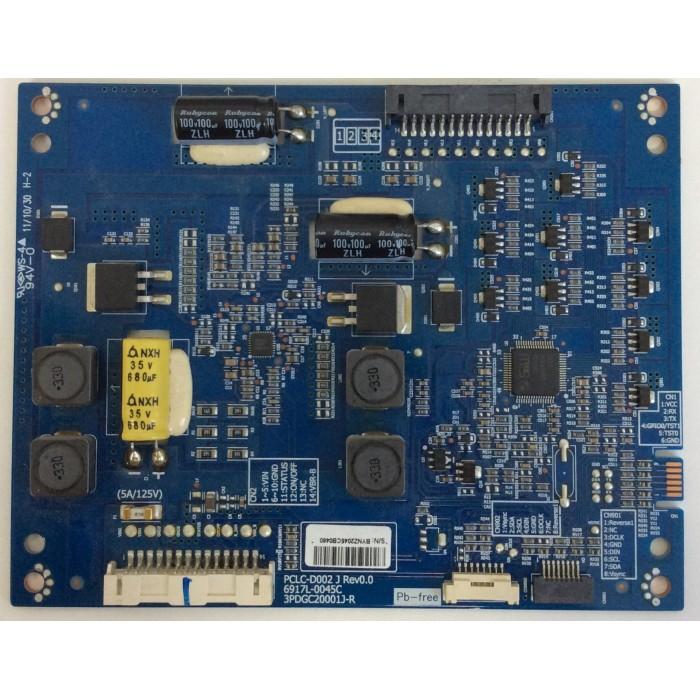 Tarjeta Driver Led (PCLC-D002 B Rev 0.4) para TV LED 32¨