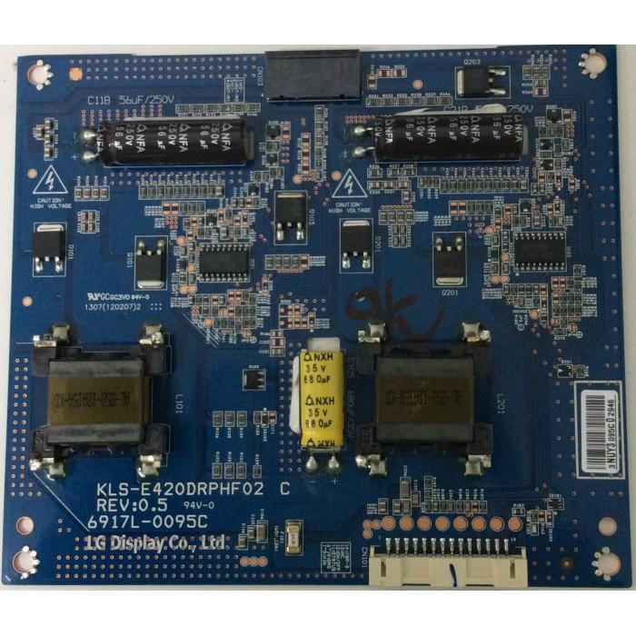 Tarjeta Driver Led (KLS-E420DRPHF02 Rev 0.5) para TV LED 42¨