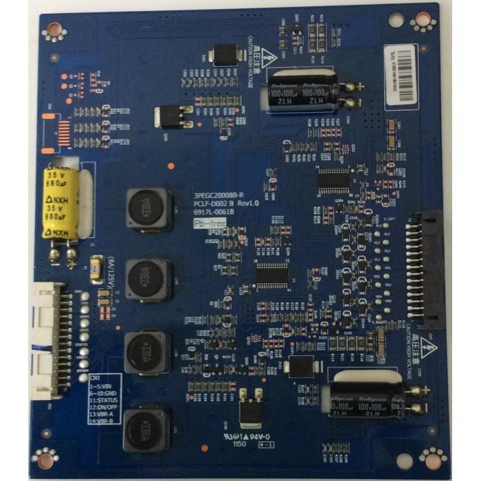 Tarjeta Driver Led (PCLF-D002 B Rev 1.0) para TV LED 42¨