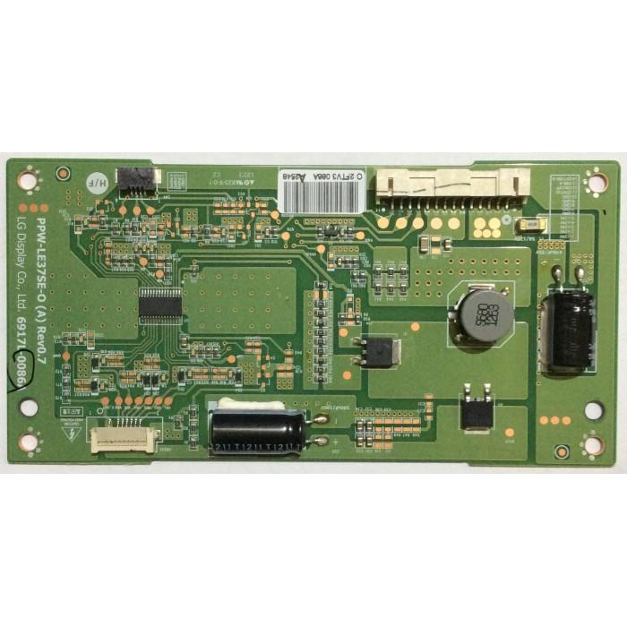 Tarjeta Driver LED (PPW-LE37SE A-O Rev 0.7) para Tv LG 37LS5600