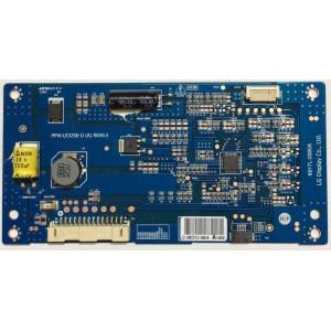 Tarjeta Driver LED (PPW-LE32SE A-O Rev 0.5) para Tv LG 32LM611S
