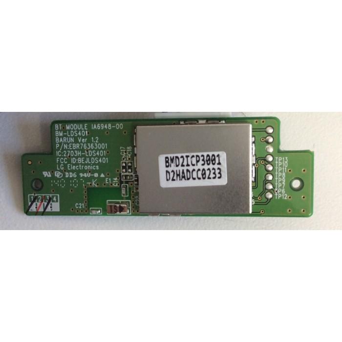 Modulo Bluetooth para televisiones LG 47LA660S/42LA660S (EBR76363001)