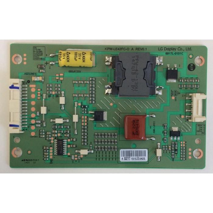 Backlight Inverter KPW-LE42FC-O A REV0.1 para Tv Philips 42PFH6309/88