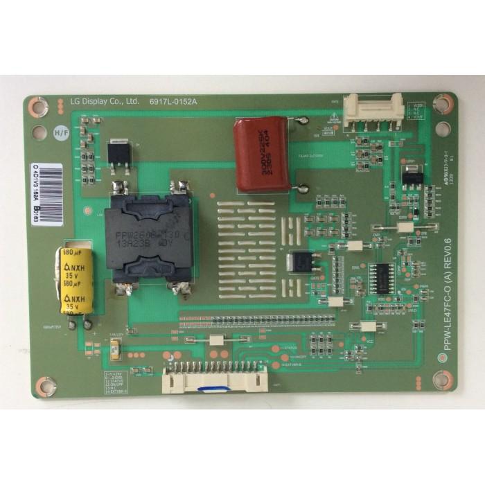 Tarjeta Driver Led PPW-LE47FC-O (A) REV0.6 para Tv Philips 47PFH6309/8