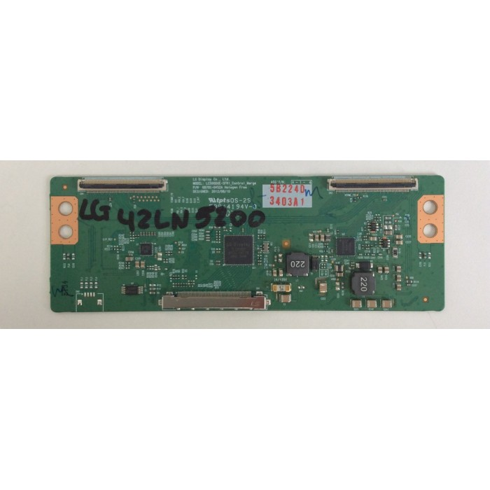 T-CON (6870C-0452A) para Tv LG 42LN5200