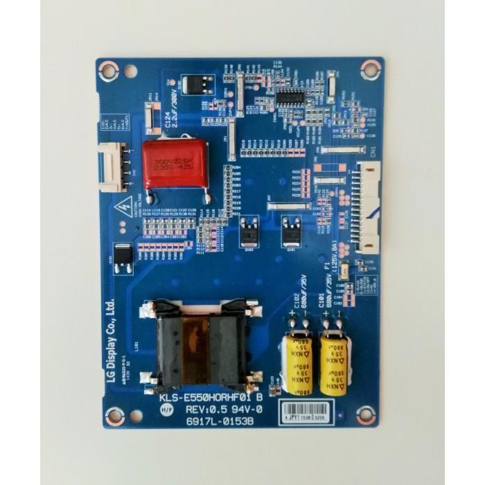 Inverter-Board KLS-E550HORHF01 B para televisión PHILIPS 55PFH6309/88