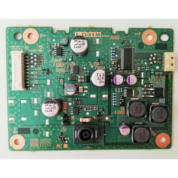 Tarjeta Driver Led (173474411) 1-889-655-11 para TV Sony KDL-48W605B
