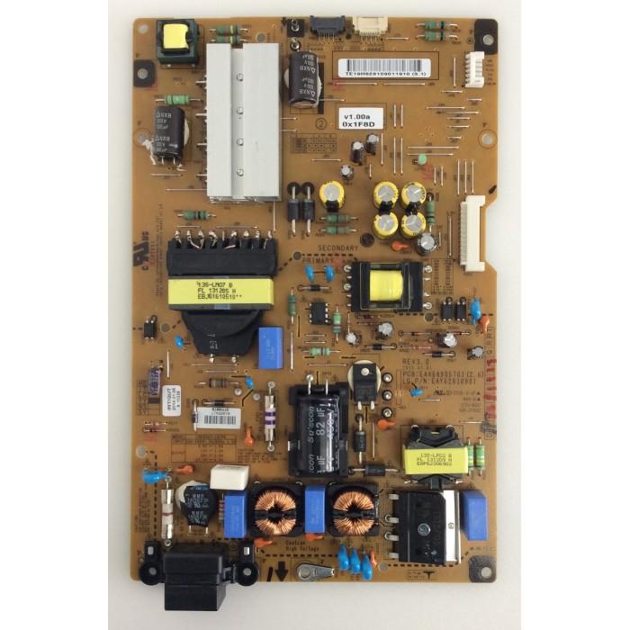 Fuente de alimentación EAX64905701(2.6) para TV LG 47LA660S/42LA660S