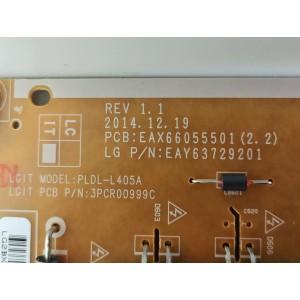 Fuente de alimentación TV LG 65UF850V (EAX66055501(2.2))