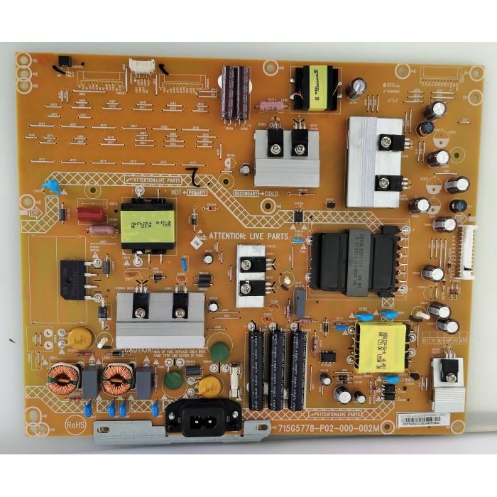 Fuente de alimentación 715G5778-p02-000-002M para Philips