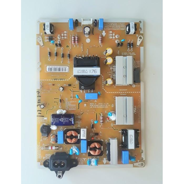 Fuente de alimentación EAX67128101 (2.1) Tv LG 49UJ670V