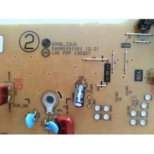 Fuente de alimentación EAX65331101 (2.2) 60R6_ZSUS para LG 60PB690V