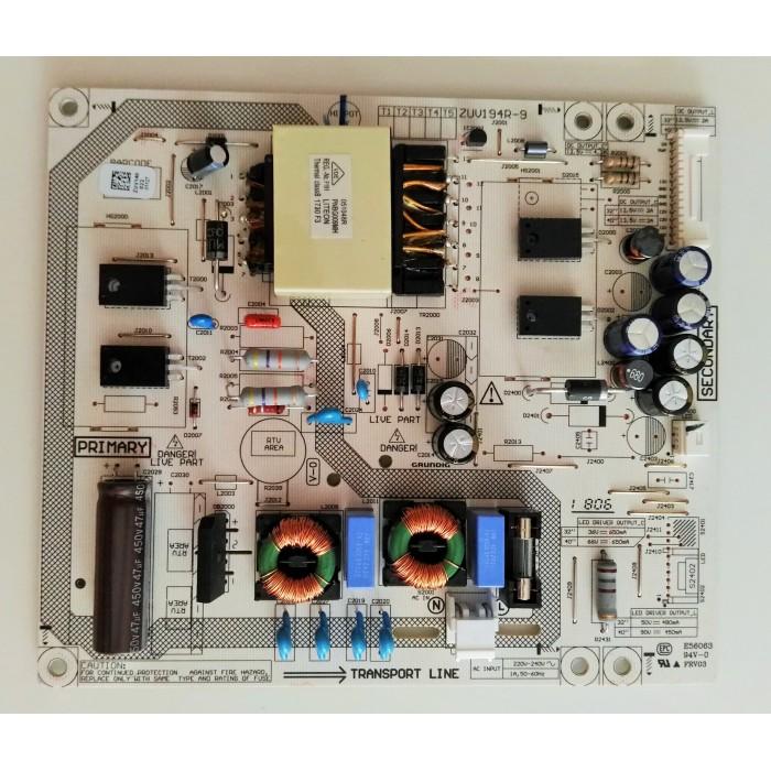 Fuente de alimentación ZUV194R-9 GRUNDIG 32VLE6730BP, 40VLE4720BN