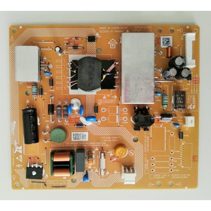 Fuente de alimentación APDP-72A1 A para TV Grundig 32VLE6730BP